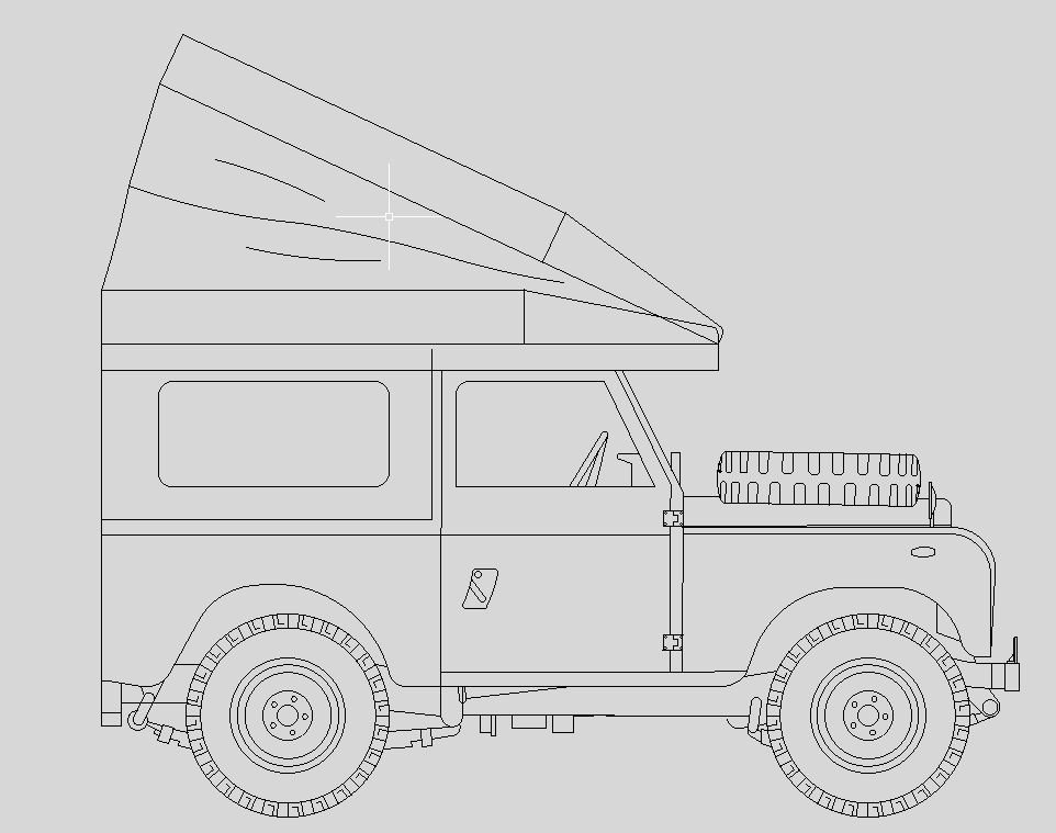 Land Rover Series 88 camp roof.JPG