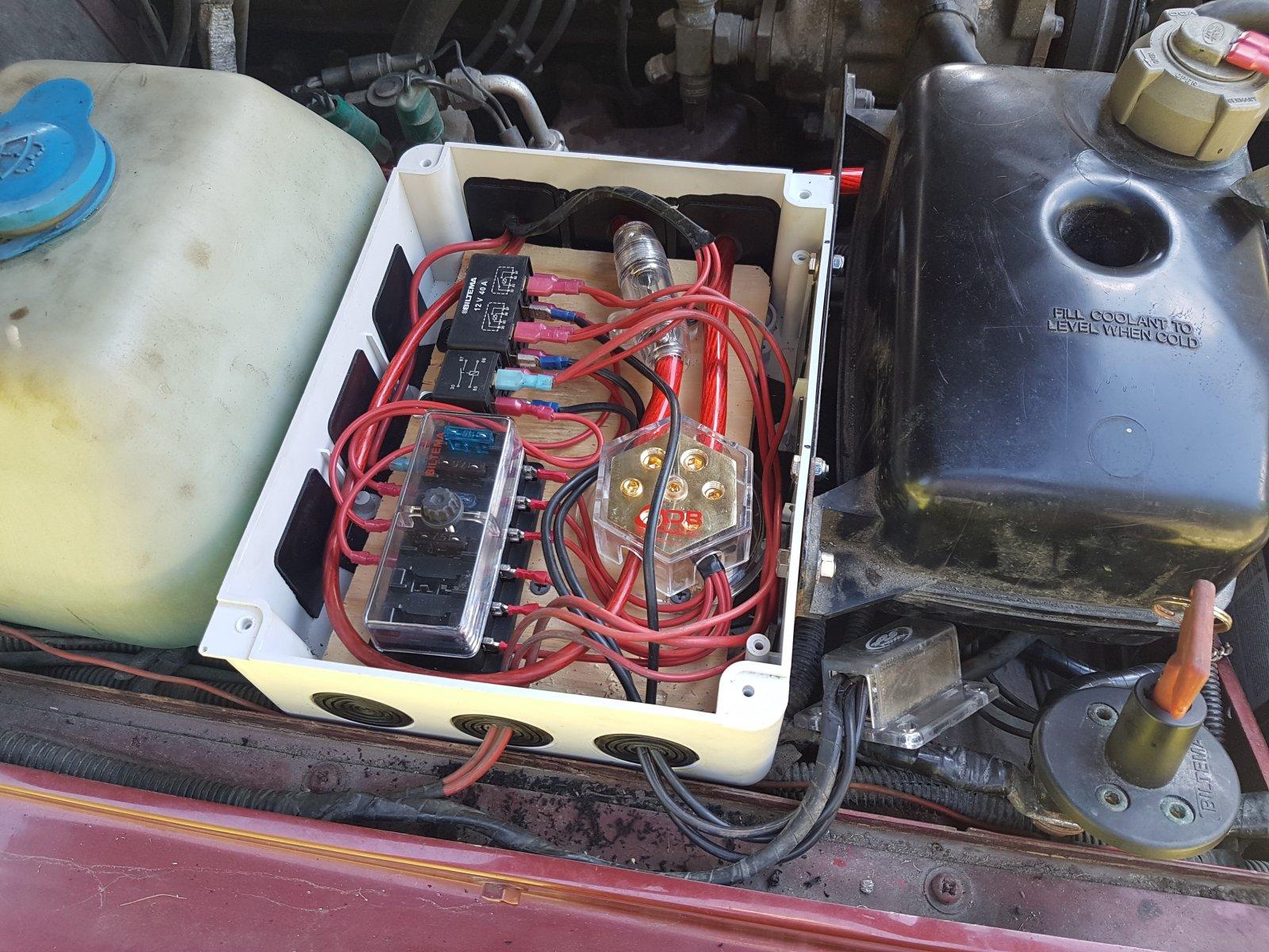 Unike Tråd for tips og erfaringer med 12v utstyr - Bilelektrisk - LRforum QI-05